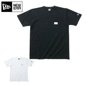 ニューエラ Tシャツ OLD LOGO PATCH NEW ERA ブランド new era おしゃれ ストリート newera ニューエラTシャツ メンズTシャツ レディースTシャツ 半袖 半そで シンプル コットン 大きいサイズ 大きめ 黒 白【MB】