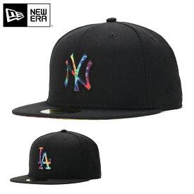 ニューエラ キャップ 59FIFTY COLOR TIE DYE MLB ロサンゼルス ドジャース NEW ERA ぼうし 野球帽 ベースボールキャップ フラットキャップ new era ブランド newera ニューエラキャップ メンズキャップ レディースキャップ メンズレディース帽子