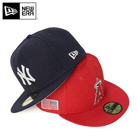 ニューエラ キャップ 59FIFTY FITTED CAP CLASSIC HIT MLB NEW ERA ぼうし 野球帽 ベースボールキャップ フラットキャップ new era ブランド おしゃれ ストリート newera ニューエラキャップ メンズキャップ レディースキャップ メンズレディース帽子