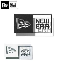 ニューエラ ダイカットステッカー BOX LOGO NEW ERA ブラック ホワイト new era ブランド おしゃれ シンプル ストリート newera ニューエラステッカー 黒 白【MB】