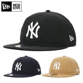 ニューエラ キャップ スナップバック 9FIFTY RETRO CROWN MLB ニューヨークヤンキース NEW ERA ぼうし new era ブランド おしゃれ ストリート newera シンプル メンズキャップ レディースキャップ メンズレディース帽子 黒
