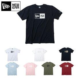 ニューエラ New Era Tシャツ BOX LOGO BASIC メンズ ウェア メンズファッション おしゃれ ストリートブランド 春 夏 秋 冬 【MB】