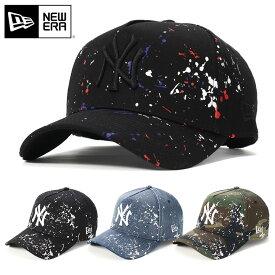 ニューエラ キャップ スナップバック 9FORTY SPLASH PAINT MLB ニューヨークヤンキース NEW ERA ぼうし ブランド おしゃれ ストリート newera ニューエラキャップ メンズキャップ レディースキャップ メンズ レディース メンズレディース帽子 メジャーリーグ ヤンキース