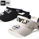 ニューエラ ゴルフ ディズニー コラボ サンバイザー SUN VISOR MICKEY NEW ERA GOLF DISNEY ぼうし ブランド おしゃれ…