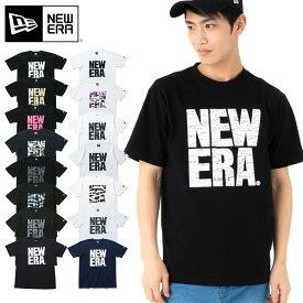 ニューエラ Tシャツ NEW ERA BIG NE||半袖t 半袖tシャツ レディース 大きいサイズ プリント ロゴ レディースティーシャツ ティーシャツ ブランド ティーシャツ メンズ プリントtシャツ 半袖 ロゴtシャツ ロゴt 【MB】