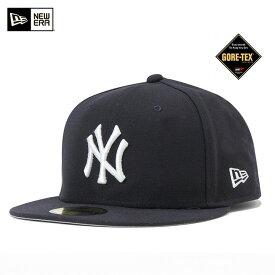 ニューエラ キャップ 59FIFTY MLB ニューヨークヤンキース ネイビー 11434033 GORE-TEX 帽子 メンズ レディース || ヤンキース new era newera ニューエラキャップ スポーツキャップ ブランド 野球帽子 野球帽 ベースボールキャップ メンズキャップ帽子