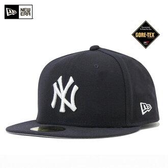 新時代戈爾特斯帽子紐約洋基隊海軍帽紐埃爾 × 戈爾-TEX 59FIFTY 帽紐約洋基隊海軍 #CP [新時代帽洋基帽子新時代帽男人],[NV] x: B 10P01Oct16