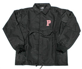 ニューエラ NEW ERA ピンクパンサー コラボ コーチジャケット ブラック アウター メンズ PINK PANTHER
