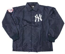 ニューエラ NEW ERA コーチジャケット MLB ニューヨークヤンキース ネイビー アウター メンズ
