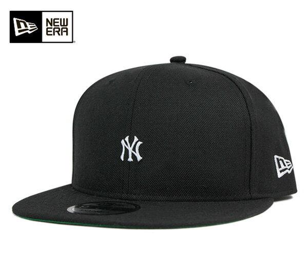ニューエラ キャップ オンスポッツ別注 9FIFTY スナップバック ミニロゴ MLB ニューヨークヤンキース ブラック ウール NEW ERA ONSPOTZ ORIGINAL