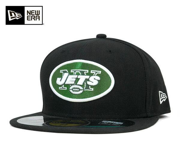 ニューエラ キャップ 59FIFTY NFL ニューヨーク ジェッツ オンフィールド ブラック 帽子 メンズ レディース 【返品・交換対象外】【SD】