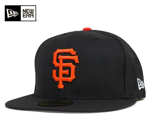 ニューエラ キャップ 59FIFTY MLB サンフランシスコ ジャイアンツ クラシックウール ブラック NEW ERA 帽子 メンズ レディース