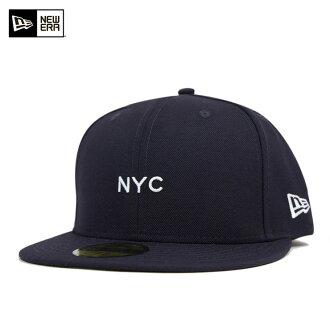 新时代帽迷你海军帽纽埃尔 59FIFTY 帽 NYC 迷你海军