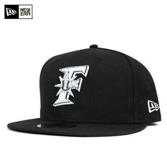 新埃拉蓋子日本火腿戰士黑色帽子NEW ERA 59FIFTY CAP NPB NIPPON HAM FIGHTERS BLACK