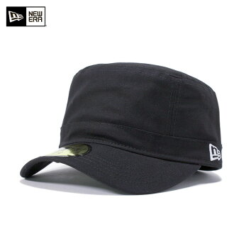 New era canvas military Cap Cap Black Hat NEWERA WM-01