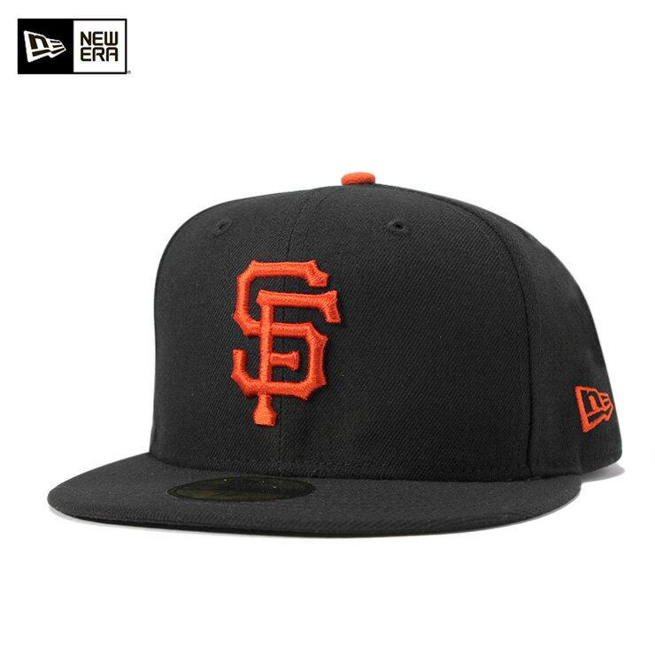 ニューエラ キャップ 59FIFTY オーセンティック オンフィールド MLB サンフランシスコ ジャイアンツ ゲーム ブラック mne-jsff001 11449343 NEW ERA 帽子 メンズ レディース [JS]【UN-】