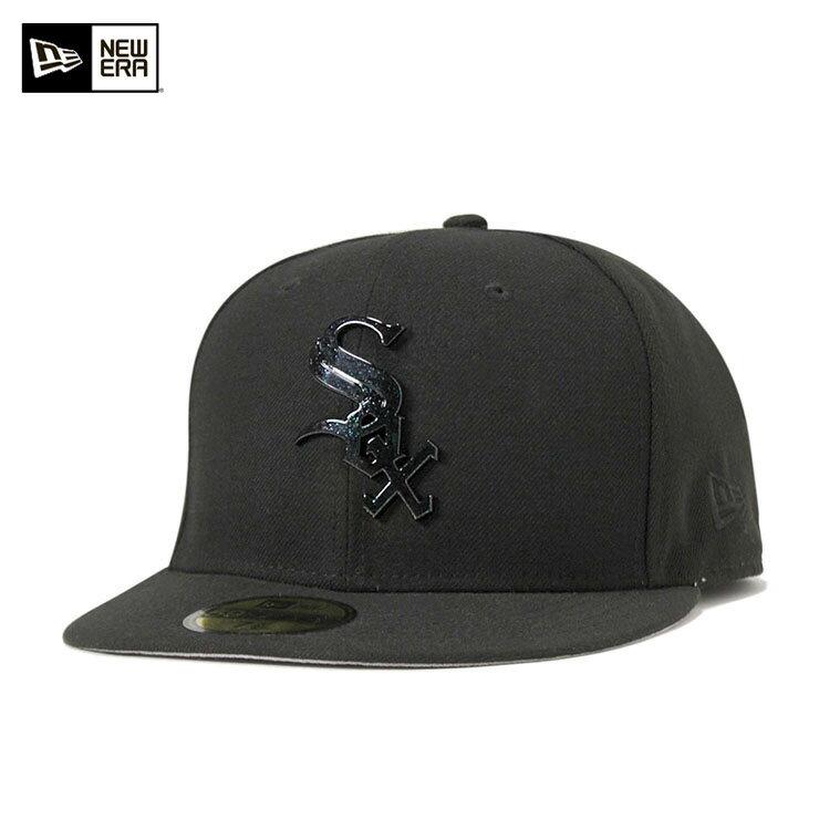 ニューエラ キャップ 59FIFTY スペックルシーン MLB シカゴ ホワイトソックス ブラック NEW ERA 帽子 メンズ レディース