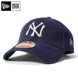 ニューエラ NEW ERA 9FORTY キャップ ストラップバック ヘリテージシリーズ クーパーズタウン ヴィンテージ チームコード MLB ニューヨークヤンキース ネイビー 帽子 メンズ レディース 【返品・交換対象外】
