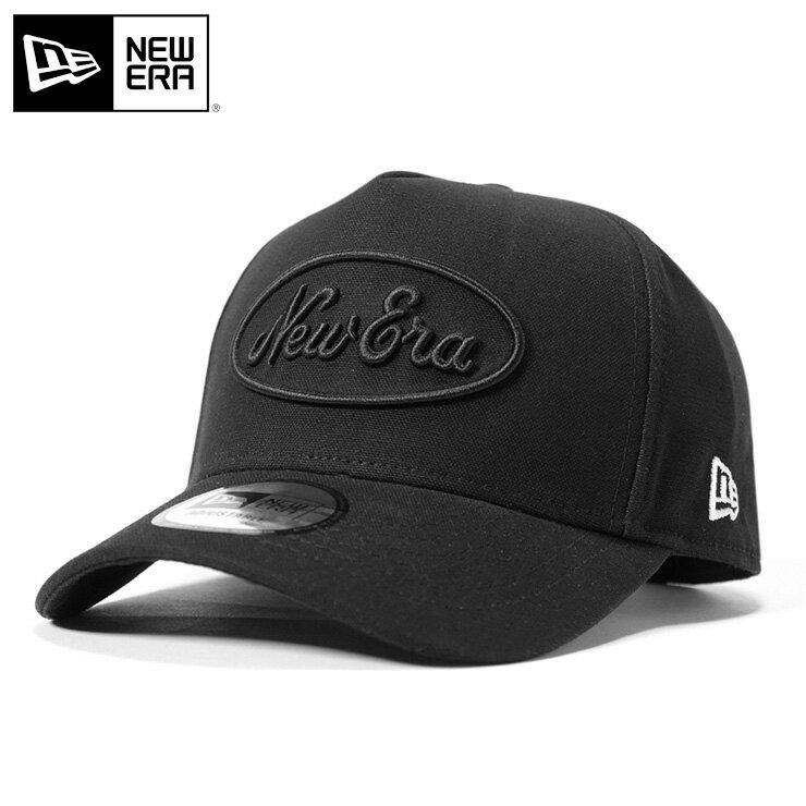 オンスポッツ別注 ニューエラ キャップ スナップバック 9FORTY Dフレーム オールドロゴ ダック ブラック NEW ERA スナップバックキャップ 帽子 黒 new era メンズキャップ ストリート レディース帽子 newera ぼうし メンズ帽子