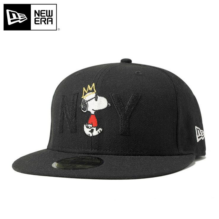 ニューエラ ピーナッツ コラボ キャップ 59FIFTY ジョー・クール NY ブラック PEANUTS || new era きゃっぷ メンズ ダンス帽子 ストリートキャップ コラボキャップ メンズ帽子 メンズキャップ帽子 かっこいい ストリート newera ニューエラキャップ ブランド ぼうし 帽子