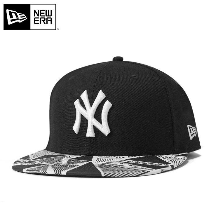 ニューエラ キャップ 59FIFTY TRIBAL MLB ニューヨークヤンキース ブラック/ブラック NEW ERA