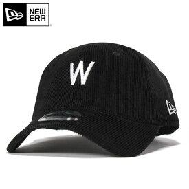 ニューエラ キャップ ストラップバック 9TWENTY クーパーズタウン ミニロゴ コーデュロイ MLB ワシントン セネタース ブラック NEW ERA n137tw506