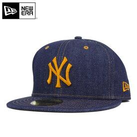 ニューエラ キャップ 59FIFTY デニム MLB ニューヨークヤンキース インディゴデニム NEW ERA ||帽子 レディース メンズ 夏 メンズキャップ帽子 ベースボールキャップ 大きいサイズ メンズ帽子 newera ヤンキース メンズキャップ