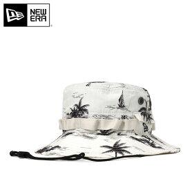ニューエラ アドベンチャーハット ADVENTURE アロハ ホワイト NEW ERA 帽子 new era メンズキャップ ストリート レディース帽子 白 ハット サファリハット アウトドア ブランド newera ぼうし メンズ帽子