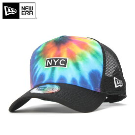 ニューエラ メッシュキャップ 9FORTY タイダイプリント NEW ERA 帽子 ぼうし newera メンズ帽子 レディース帽子 new era ブランド おしゃれ 春夏 夏 メンズキャップ レディースキャップ ニューエラキャップ