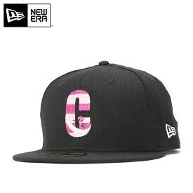 1a43207c267 ニューエラ ディズニー コラボ キャップ 59FIFTY ALICE CHESHIRE CAT ブラック NEW ERA DISNEY 帽子  メンズ帽子 レディース帽子 newera ブランド おしゃれ new era ...