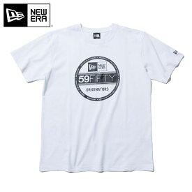 ニューエラ Tシャツ VISOR STICKER BASIC ホワイト NEW ERA 半袖 半そで ブランド new era ストリート シンプル newera おしゃれ ニューエラTシャツ 白 メンズTシャツ レディースTシャツ【MB】