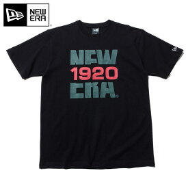 ニューエラ Tシャツ BIG NEW ERA 1920 ブラック NEW ERA 半袖 半そで ストリート シンプル おしゃれ ニューエラTシャツ 黒 メンズTシャツ レディースTシャツ【MB】