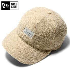 オンスポッツ別注 ニューエラ キャップ 59FIFTY RETRO CROWN BOA MELTON ベージュ NEW ERA ニューエラキャップ ボア 秋冬 ブランド おしゃれ メンズキャップ レディースキャップ ぼうし メンズ帽子 レディース帽子