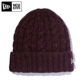 ニューエラ ニット帽 カフ WOOL BLEND LOW GAUGE コーヒー NEW ERA ぼうし 秋冬 ブランド おしゃれ ニットキャップ ニューエラキャップ メンズ帽子 レディース帽子 ブラウン