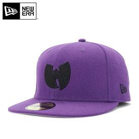 ニューエラ キャップ 59FIFTY LIVE NATION WU-TANG CLAN ディープパープル NEW ERA ぼうし 野球帽 ベースボールキャップ フラットキャップ new era ブランド おしゃれ ストリート newera ニューエラキャップ メンズキャップ レディースキャップ メンズレディース帽子