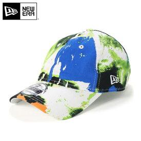 ニューエラ キャップ サイズ調整 9THIRTY BRUSH PAINT グリーン NEW ERA ぼうし ローキャップ ブランド おしゃれ ストリート newera ニューエラキャップ メンズキャップ レディースキャップ メンズ レディース メンズレディース帽子