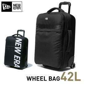 ニューエラ キャリーバッグ 42Lバッグ メンズ レディース ウィールバッグ NEW ERA NEWERA WHEEL BAG 全2色 ブランド new era おしゃれ newera メンズバッグ 鞄 かばん カバン 高機能 大容量 ブラック 黒