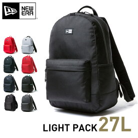 ニューエラ リュック 24L バッグ メンズ レディース ライトパック バックパック LIGHT PACK デイバッグ 黒リュック おしゃれ リュックサック new era newera ブランド ニューエラー デイパック 通勤 機能性 赤 黒 通学 インナーポケット ニューエラリュック