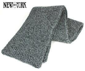 ニューヨークハット(NEW YORK HAT)マフラー スカーフ マール ブラック SCARF MARL BLACK メンズ