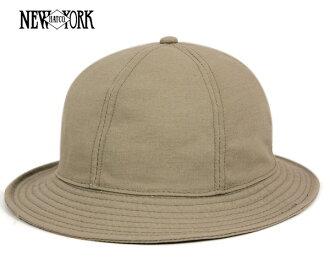New York Hat canvas tennis Hat khaki hats NEW YORK HAT CANVAS TENNIS KHAKI [Hat large size mens ladies] [KH] #HA: O