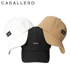 キャバレロ キャップ サイズ調整 LOW CAP VIC CABALLERO ブラック オリーブ グレー 黒 おしゃれ ブランド 帽子 メンズキャップ レディースキャップ ぼうし ローキャップ シンプル 夏 春夏 メンズ帽子 レディース帽子