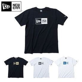 ニューエラ Tシャツ BOX LOGO BASIC NEW ERA new era ブランド おしゃれ ストリート newera【MB】