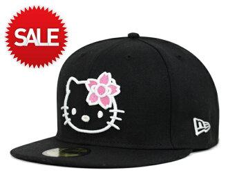 Note Newell オンスポッツ sale SALE x Hello Kitty collaboration Cap cherry Black Hat ONSPOTZ ORIGINAL NEWERA×HELLO KITTY SAKURA KITTY BLACK #CP: B
