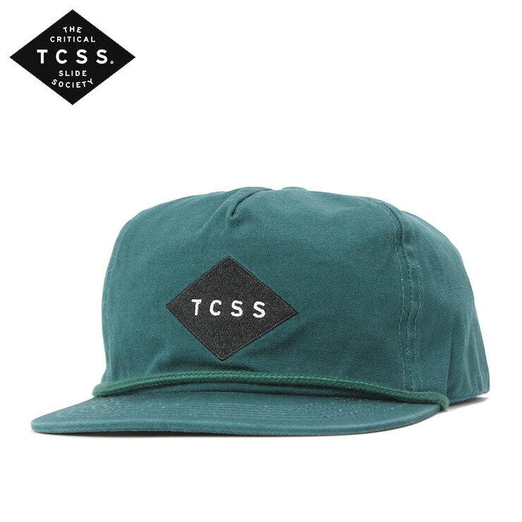 ティーシーエスエス キャップ スナップバック STANDARD FADED グリーン TCSS メンズ帽子 レディース帽子 メンズキャップ レディースキャップ 帽子 ぼうし 緑
