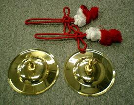 チャッパ (チャンポン・手拍子) フサ付き 4.5寸 (直径:13cm)