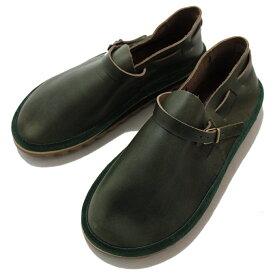 サンダルマン 別注 バックルシュー SANDALMAN SP. LACE BUCKLE SHOE Green 別注レースバックルシュー OUTDOOR ブーツ サンダル