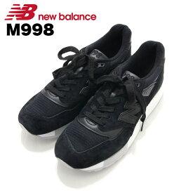 ニューバランス NewBalance M998 ブラック Black スニーカー Sneaker シューズ Shoes