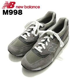 ニューバランス NewBalance M998 グレー Gray Grey スニーカー Sneaker シューズ Shoes