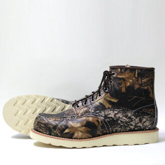 "RED WING (Red Wing) 8884 Classic Work 6 ""Moc-toe Camouflage"