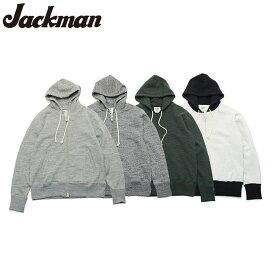 ジャックマン スウェットジップパーカー Jackman GG Sweat Jip Parka JM7873 4color